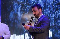 SAO PAULO, SP - 12.02.2019 - CAMPUS PARTY - Wilson D. Welliseh, diretor do Departamento de Inclus&atilde;o Digital, participa de cerim&ocirc;nia de abertura oficial da Campus Party Brasil nesta ter&ccedil;a-feira (12) Expo Center Norte na zona norte de Sao Paulo.<br /> <br /> <br /> (Foto: Fabricio Bomjardim / Brazil Photo Press / Folhapress)
