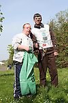 Jason and Karl at National Spring Clean of the Ramparts with Malta Services....(Photo credit should read Jenny Matthews www.newsfile.ie)....This Picture has been sent you under the conditions enclosed by:.Newsfile Ltd..The Studio,.Millmount Abbey,.Drogheda,.Co Meath..Ireland..Tel: +353(0)41-9871240.Fax: +353(0)41-9871260.GSM: +353(0)86-2500958.email: pictures@newsfile.ie.www.newsfile.ie.