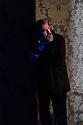 "Leeds, UK. 31.01.2019. Opera North presents Leoš Janáček's ""Katya Kabanova"", at Leeds Grand Theatre, conducted by Sian Edwards, directed by Tim Albery with lighting design by Peter Mumford and set and costume design by Hildegard Bechtler. Cast is: Stephanie Corley (Katya Kabanova), Harold Meers (Boris), Andrew Kennedy (Tichon), Heather Shipp (Kabanicha), Katie Bray (Varvara), Alexander Sprague (Kudryash), Stephen Richardson (Dikoy), Nicholas Butterfield (Kuligin), Laura Kelly-McInroy (Glasha), Rachel Mosley (Feklusha). Picture shows: Stephen Richardson as Dikoy. Photograph © Jane Hobson."