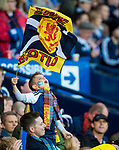 Scotland fans celebrate during the World Cup Qualifying Group F match at Hampden Park Stadium, Glasgow. Picture date 4th September 2017. Picture credit should read: Craig Watson/Sportimage