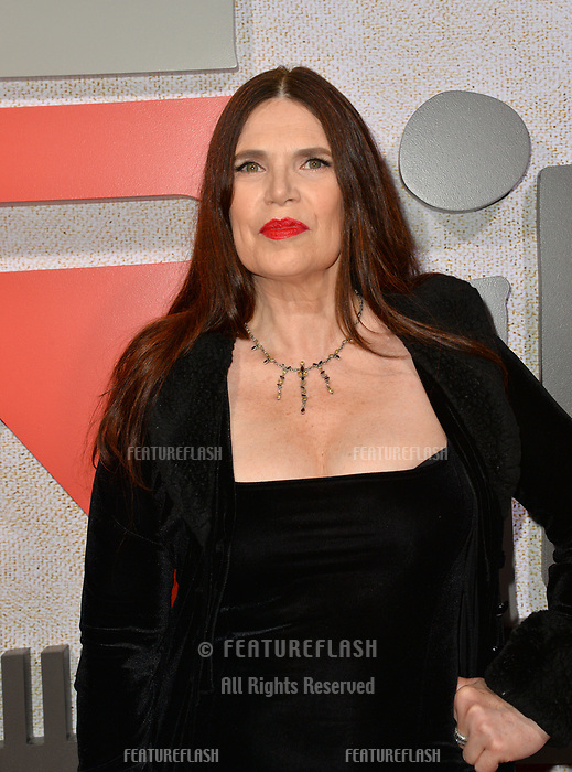 "LOS ANGELES, CA. October 24, 2018: Barbara Magnolfi at the Los Angeles premiere for ""Suspiria"" at the Cinerama Dome.<br /> Picture: Paul Smith/Featureflash"