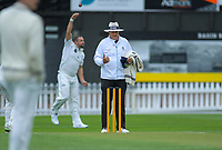 Umpire Tim Parlane during day one of the Plunket Shield cricket match between the Wellington Firebirds and Auckland at Basin Reserve in Wellington, New Zealand on Friday, 8 November 2019. Photo: Dave Lintott / lintottphoto.co.nz