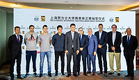 THE DRAW<br /> <br /> TENNIS - ROLEX SHANGHAI MASTERS - QI ZHONG TENNIS CENTER - MINHANG DISTRICT - SHANGHAI - CHINA - ATP 1000 - 2018 <br /> <br /> <br /> <br /> &copy; TENNIS PHOTO NETWORK