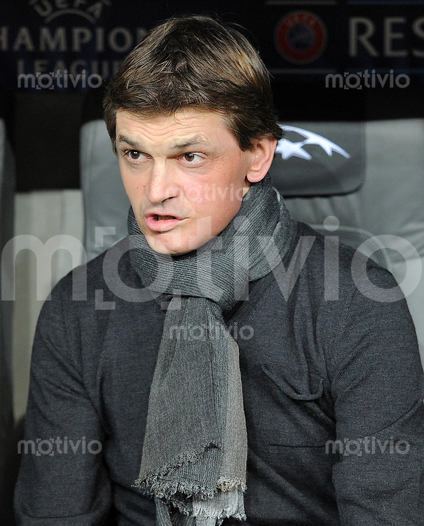 FUSSBALL  CHAMPIONS LEAGUE  HALBFINALE  HINSPIEL  2012/2013      FC Bayern Muenchen - FC Barcelona      23.04.2013 Trainer Tito Vilanova (Barca)