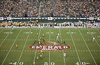 .2008 Emerald Bowl, San Francisco, Calif., Saturday, Dec. 27, 2008. University of California 24, University of Miami, 17.