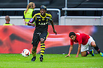 Solna 2013-08-06 Football Friendly Game , AIK - Manchester United FC :  <br /> AIK 9 Martin Kayongo Mutumba <br /> (Foto: Kenta J&ouml;nsson) Nyckelord: