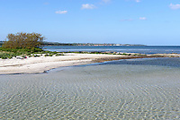Strand von Snogeb&aelig;k auf der Insel Bornholm, D&auml;nemark, Europa<br /> beach at Snogebaek, Isle of Bornholm Denmark