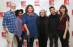 "Richard Masur, Pascale Armand, Liesl Tommy, Jayne Houdyshell, J.C. Lee and Molly Camp attend the Meet & Greet for the cast of ""Relevance"" at the Dodgers Atelier on January 9, 2018 in New York City."