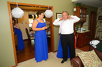 7/28/12 1:48:32 PM - Fairless Hills PA. -- Andrea & Dan - July 28, 2012 in Fairless Hills, Pennsylvania. -- (Photo by William Thomas Cain/Cain Images)