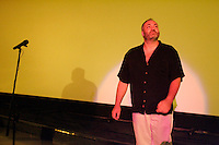 July 20 ,  2004 Montreal (Qc) CANADA<br /> Danish Actor / Screenwriter KIM BODNIA present the movie THE GOOD COP (Den Gode strrmer) July 20, 2004 at Fantasia Film Festival in Montreal, CANADA.<br /> <br /> Since its inception in 1996, FanTasia has been an event hell-bent on showcasing the most exciting, innovative and individualistic examples of contemporary international genre cinema, with an emphasis on unveiling films very rarely seen in North America. It has become a hugely popular Montreal summer tradition for roughly 70 000 festival-goers to spend three weeks being amazed by sensational celluloid <br /> Photo (c) 2004, Pierre Roussel / Images Distribution