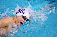 PICTURE BY VAUGHN RIDLEY/SWPIX.COM - Swimming - British International Disability Swimming Championships 2012 - Ponds Forge, Sheffield, England - 08/04/12 - Sam Hynd competes in the Men's MC 400m Freestyle Heats.