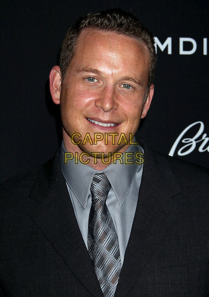 "Cole Hauser.""Olympus Has Fallen"" Los Angeles Premiere held at ArcLight Cinemas Cinerama Dome, Hollywood, California, USA..March 18th, 2013.headshot portrait blue shirt suit jacket tie grey gray.CAP/ADM/RE.©Russ Elliot/AdMedia/Capital Pictures."