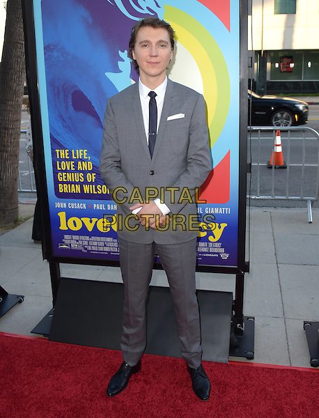 Paul Dano attends The Lionsgate L.A. Premiere of Love &amp; Mercy held at AMPAS  in Beverly Hills, California on June 02,2015                                                                               <br /> CAP/RKE/DVS<br /> &copy;DVS/RockinExposures/Capital Pictures