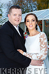 Mary Murphy, Gneeveguilla, daughter of Donal and Peig, and Adrian O'Connell, Gneeveguilla son of Tim and Margaret who were married in the Church of the Holy Rosary Gneeveguillaa on Saturday Fr Pat O'Donnell officiated at the ceremony, best man was Tommy Murphy groomsmen were Billy McCarthy and Denis Nagle, bridesmaids were Kayla Murphy, Elaine O'Riordan and Elaine O'Donovan and Jacqueline Murphy, the page boy was Liam Lawlor, the reception was held in the Great Southern Hotel and the couple will reside in Gneeveguilla