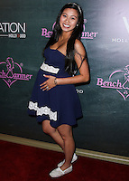 HOLLYWOOD, LOS ANGELES, CA, USA - AUGUST 28: Crystal Hoang arrives at the Benchwarmer Back To School Celebration to Benefit Children of the Night held at Station Hollywood at the W Hotel Hollywood on August 28, 2014 in Hollywood, Los Angeles, California, United States. (Photo by Xavier Collin/Celebrity Monitor)