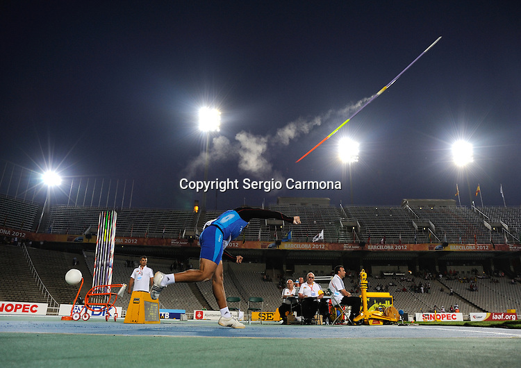 IAAF Juniors World Championships; Barcelona 2012