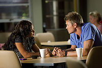 Christmas Cupid (2010)<br /> Chad Michael Murray &amp; Christina Milian<br /> *Filmstill - Editorial Use Only*<br /> CAP/KFS<br /> Image supplied by Capital Pictures
