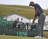 Tiger Woods putts on the 17th Hole during the first round of the U.S. Open Championship at Shinnecock Hills Golf Club in Southampton on Thursday, June 14, 2018.
