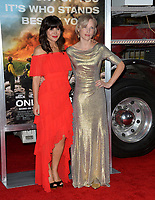 Moniqua Plante, Jenny Gabrielle at the premiere for &quot;Only The Brave&quot; at the Regency Village Theatre, Westwood. Los Angeles, USA 08 October  2017<br /> Picture: Paul Smith/Featureflash/SilverHub 0208 004 5359 sales@silverhubmedia.com