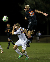 The Winthrop University Eagles lose 2-1 in a Big South contest against the Campbell University Camels.  Bryce Miller (20), Max Hasenstab (18)