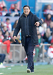 Atletico de Madrid's second coach German Mono Burgos during La Liga match. April 30,2016. (ALTERPHOTOS/Acero)