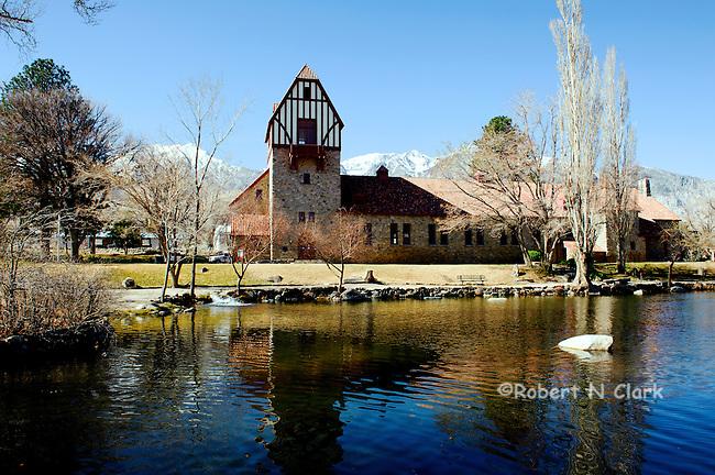 Mount Whitney Fish Hatchery near Independence, CA