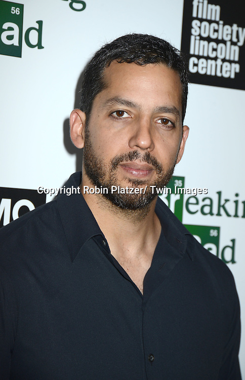 "David Blaine attends the Film Society of Lincoln Center and AMC celebration of  the final episodes of  ""Breaking Bad"" at the Walter Reade Theatre in Lincoln Center  in New York City on July 31, 2013"
