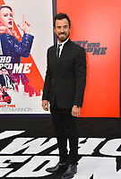 Justin Theroux at the world premiere for &quot;The Spy Who Dumped Me&quot; at the Fox Village Theatre, Los Angeles, USA 25 July 2018<br /> Picture: Paul Smith/Featureflash/SilverHub 0208 004 5359 sales@silverhubmedia.com