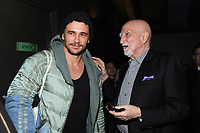NEW YORK, NY - January 9: James Franco and Dominic Chianese at HBO And Split Screens Festival The Sopranos 20th Anniversary panel discussion at the SVA Theatre in New York City on January 9, 2019. Credit: John Palmer/MediaPunch