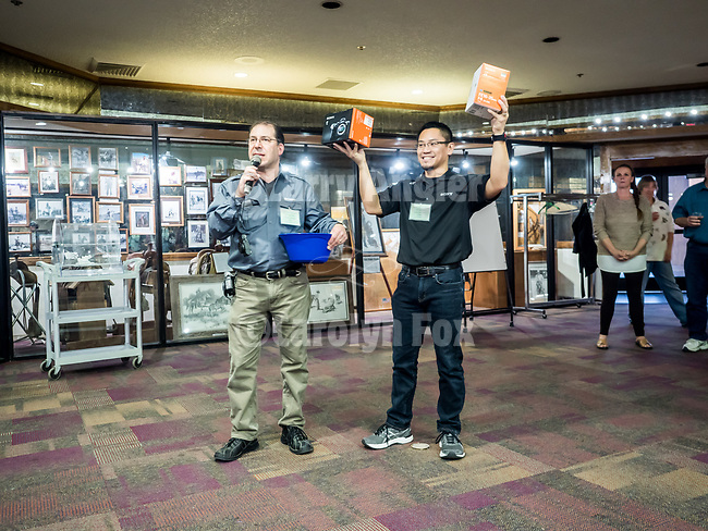 Glenn Weinfeld and Van Nguyen have Moose Peterson draw winning number for a Sony Alpha 7 camera and lens...and the winner is...Cynthia Baldauf!<br /> <br /> Shooting the West XXIX <br /> <br /> <br /> #SonyAlpha<br /> #WinnemuccaNevada, #ShootingTheWest, #ShootingTheWest2017, @WinnemuccaNevada, @ShootingTheWest, @ShootingTheWest2017