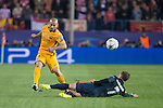Atletico de Madrid's Antoine Griezmann and FC Barcelona Mascherano during Champions League 2015/2016 Quarter-Finals 2nd leg match. April 13, 2016. (ALTERPHOTOS/BorjaB.Hojas) during Champions League 2015/2016 Quarter-Finals 2nd leg match. April 13, 2016. (ALTERPHOTOS/BorjaB.Hojas)