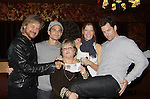 "Drama Brunch - The Young & The Restless stars Stephen Nichols - Greg Rikaart - Michelle Stafford - Michael Muhney pose with Joyce Becker of Soap Opera Festivals who is holding Charlotte, her first granddhild who was just born at a brunch and photos during the Soap Opera Festivals Weekend - ""All About The Drama"" on March 25, 2012 at Bally's Atlantic City, Atlantic City, New Jersey.  (Photo by Sue Coflin/Max Photos)"