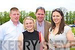 Brian, Katy Cotter, Ger Sheehan and Susan Sheahan Killarney enjoying the Killarney Races on Sunday ..   Copyright Kerry's Eye 2008
