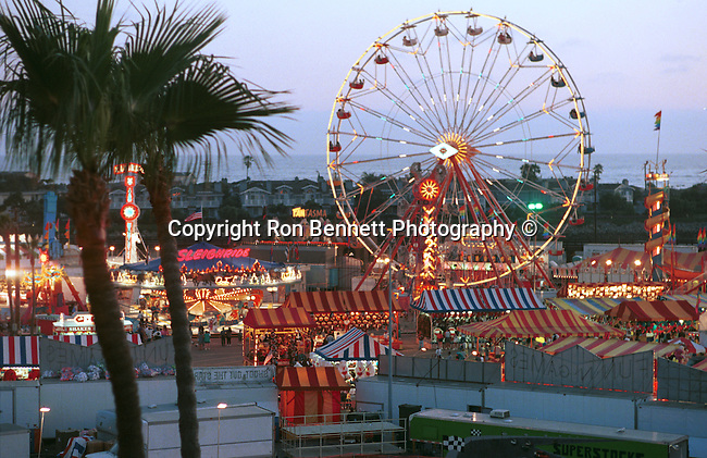 Farris wheel Del Mar fair California, West Coast of US, Golden State, 31st State, California, CA, Fine Art Photography by Ron Bennett, Fine Art, Fine Art photography, Art Photography, Copyright RonBennettPhotography.com ©