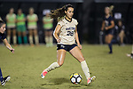 at Spry Soccer Stadium on September 15, 2017 in Winston-Salem, North Carolina.  The Demon Deacons defeated the Panthers 2-0.  (Brian Westerholt/Four Seam Images)