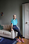 Clothing designer Rachel Antonoff, 32, at her apartment on the upper east side of Manhattan. <br /> <br /> Danny Ghitis for The New York Times
