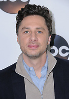 08 January 2018 - Pasadena, California - Zach Braff. 2018 Disney ABC Winter Press Tour held at The Langham Huntington in Pasadena. <br /> CAP/ADM/BT<br /> &copy;BT/ADM/Capital Pictures