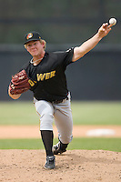 Starting pitcher Rudy Owens #30 of the West Virginia Power in action versus the Hickory Crawdads at L.P. Frans Stadium June 21, 2009 in Hickory, North Carolina. (Photo by Brian Westerholt / Four Seam Images)