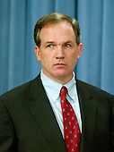 "Washington, DC - October 28, 2005 -- Special Counsel Patrick J. Fitzgerald, arrives at a press conference to discuss his 5-count indictment against Vice President Dick Cheney's chief of staff, I. Lewis ""Scooter"" Libby in the illegal disclosure of undercover Central Intelligence Agency (CIA) officer Valerie Plame's identity, in Washington, DC, on October 28, 2005. .Credit: Ron Sachs / CNP.(RESTRICTION: NO New York or New Jersey Newspapers or newspapers within a 75 mile radius of New York City)"