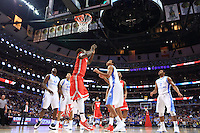 The Ohio State University men's Basketball team was defeated by North Carolina 82-74 in the CBS Sports Classic in Chicago's United Center. December 20, 2014