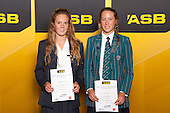Girls Distance running finalists Ashleigh Williams and Emily Pearce. ASB College Sport Young Sportsperson of the Year Awards held at Eden Park, Auckland, on November 24th 2011.
