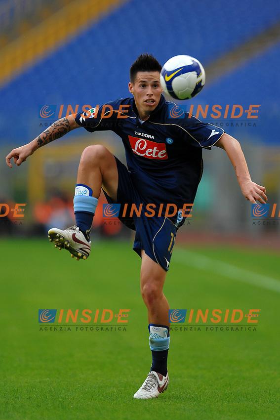 Marek Hamsik (Napoli)<br /> Roma 27/10/2008 Stadio &quot;Olimpico&quot; <br /> Campionato Italiano Serie A 2008/2009<br /> Lazio Napoli (0-1)<br /> Foto Andrea Staccioli Insidefoto