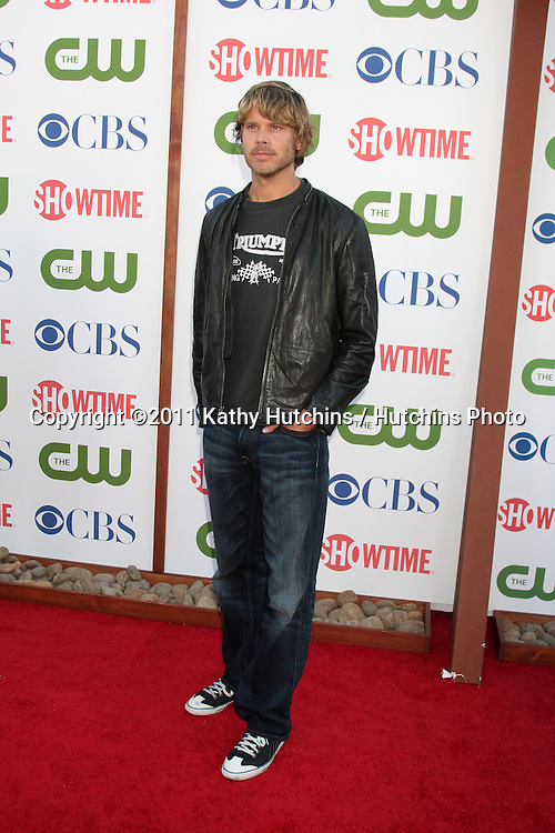 LOS ANGELES - AUG 3:  Eric Christian Olsen arriving at the CBS TCA Summer 2011 All Star Party at Robinson May Parking Garage on August 3, 2011 in Beverly Hills, CA