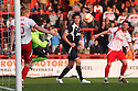 Ashley Bayes saves from Andy Carroll. Mitchell Cole Benefit Match - Lamex Stadium, Stevenage - 7th May, 2013. © Kevin Coleman 2013. ..