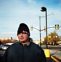 Day laborer .NoVa minutemen confront day laborers in a work pick site .Herndon, Va.12/1/05.photos: Hector Emanuel