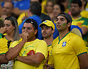 Brazil fans (BRA),<br /> JULY 8, 2014 - Football / Soccer : FIFA World Cup 2014 semi-finals match between Brazil 1-7 Germany at Mineirao stadium in Belo Horizonte, Brazil.<br /> (Photo by FAR EAST PRESS/AFLO)