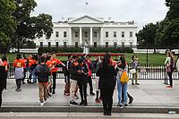 WASHINGTON, DC, 24.05.2017 - TURISMO-USA - Vista da Casa Branca é a residência oficial e principal local de trabalho do Presidente dos Estados Unidos, sendo, ao mesmo tempo, a sede oficial do poder executivo naquele país.(Foto: Vanessa Carvalho/Brazil Photo Press)