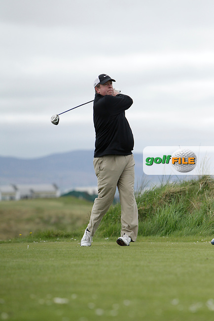 Michael Buggy (Castlecomer) during round 1 of The West of Ireland Amateur Open in Co. Sligo Golf Club on Friday 18th April 2014.<br /> Picture:  Thos Caffrey / www.golffile.ie