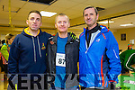 At the Puck Warriors annual 5k and 10km Jingle Run on Saturday were l-r  Tony Harty, Firies, Seamus Murphy, Killarney and Jerome Murphy, Milltown