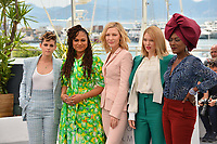 Kristen Stewart, Ava Duvernay, Cate Blanchett, Blanchett, Lea Seydoux &amp; Khadja Nin at the photocall for the Cannes Jury at the 71st Festival de Cannes, Cannes, France 08 May 2018<br /> Picture: Paul Smith/Featureflash/SilverHub 0208 004 5359 sales@silverhubmedia.com